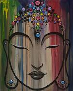 Rainbow Crown Buddha NEW ART!