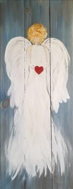 Angelic Love Real Wood Board-so PRETTY! 18+