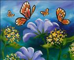 Family Day $10 of 16X20 NEW ART! Flutter by Garden