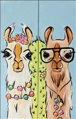 Mr and Mrs Llama - Set