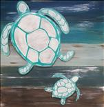Turtles Real Wood Board