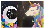 Sparkle Moon and Unicorn - Set *Family Fun Day*