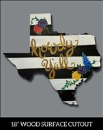 Texas Chic Cutout
