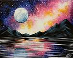 Galaxy Reflection 16X20 NEW ART! 18+