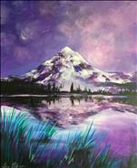 NEW ART~ Purple Mountain Majesty Reflection