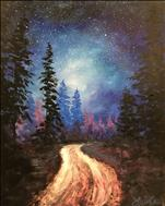 Forest Night Skies, Step by Step Instructions