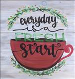 Fresh Start Real Wood Board