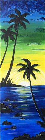 NEW! - Maui Sunrise - LONG CANVAS