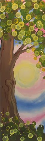 Bubbly Tree 10X30 NEW ART! 12+