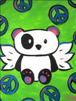 Paint for Peace with our Flying Panda-All Ages