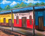 New Art! El Mercado!! Teens & UP! Double Paint Pts