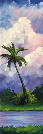 PUBLIC: Paradise Palms  *Tall Canvas* (New)