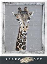 Rebeca Flott Arts - Patches the Giraffe-Screen Art