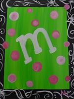 Kids Kamp! Paint & Personalize Initials! SEE NOTES