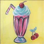 50's Fun Series - Milkshake