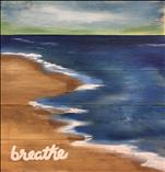 Breathe Real Wood Board-GORGEOUS & New! 18+