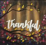 Thankful | Pallet or Pine Plank Board