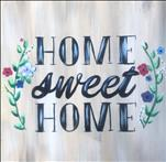 """Home Sweet Home"" Real Wood Board"
