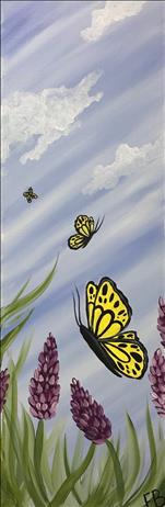 NEW! 10X30! Butterfly Skies! Teens & UP!