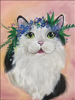 Paint Your Pet! Add flower crown if you wish