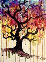 NEW ART!! Drippy Tree
