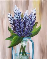 $29 MANIC MONDAY! Bluebonnet Bouquet (Adults 18+)