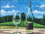 Painting with a Twist at the Hawk's Shadow Winery