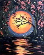 Harvest Moon River | Canvas or Pallet