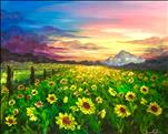 Field of Summer Sunflowers 3hr, New Art