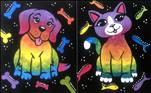 Rainbow Pets - You Pick Dog OR Cat