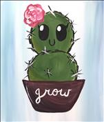 Cactus Cutie Opt 1 - All Ages Welcome!