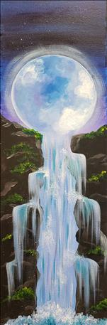 Luna Falls - Tall Canvas!
