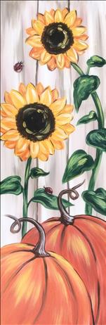 A Sunny Harvest ~ CANVAS OR WOOD BOARD