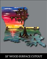Swampy Louisiana Cutout