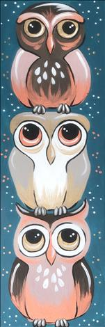 2X PAINT POINTS~NEW ART 10X30~Owl Be There For You