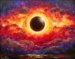 Lunch N Paint Party!  Solar Eclipse