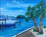New Art - Life at a Lake Dora Marina!