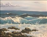 *NEW PAINTING* High Tides