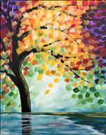 Fall Reflections, Click here to paint!