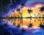 New Art! Florida Stormy Reflections.