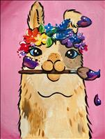 Artsy Llama-Family Time -Ages 10+-NO ALCOHOL!