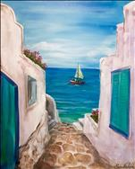 NEW ART: Santorini View