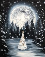 LIGHTED CANVAS! Mystical Christmas (21+)