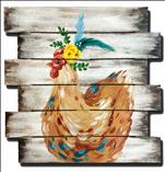 *Wooden Pallet* Boho Chicken