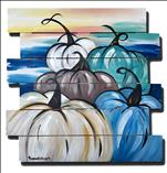 Shades of Blue Gourds Pallet***Teen & Adult