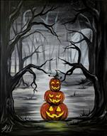 A Haunted Night 16X20 NEW ART! 12+