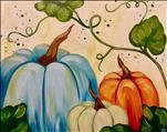 NEW ART-Pumpkin Harvest on a 16X20-$35
