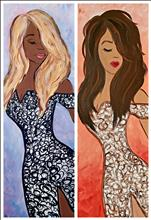 Irreplaceable Diva Night! Pick your colors!