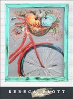 Rebeca Flott Arts - Biking Through Autumn