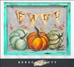Rebeca Flott Arts *Screen Art* Pumpkin Patch